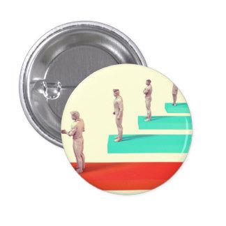 Financial Services or Fintech Company as Concept 3 Cm Round Badge