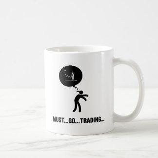 Financial Trader Basic White Mug