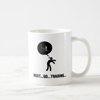Financial Trader Classic White Coffee Mug
