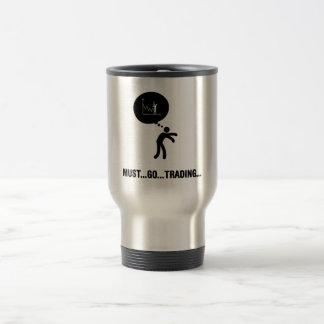 Financial Trader 15 Oz Stainless Steel Travel Mug