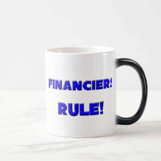 Financiers Rule! Mugs