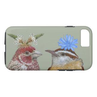 finch and wren, iPhone 7, Tough Case