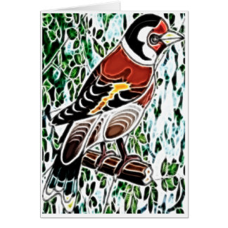 Finch Blank Card