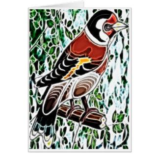 Finch Note Card