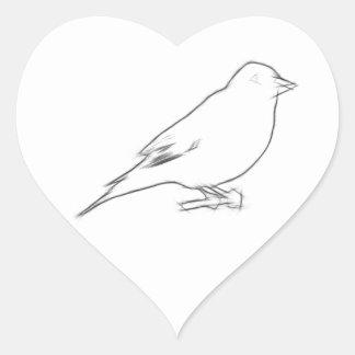 Finch Sketch Stickers