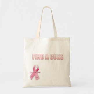 FIND A CURE BREAST CANCER BAGS