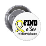 Find a Cure Endometriosis Awareness Pins