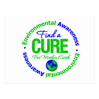 Find A Cure for Mother Earth Postcard