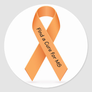 Find a Cure for MS (Multiple Sclerosis) Sticker