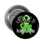 Find a Cure For My Mother-in-Law - Lymphoma 6 Cm Round Badge