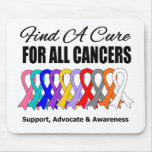 Find a Cure Ribbons For All Cancers