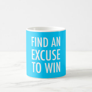 Find An Excuse To Win - Crossfit And Workout Coffee Mug