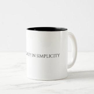 Find Beauty In Simplicity Mug