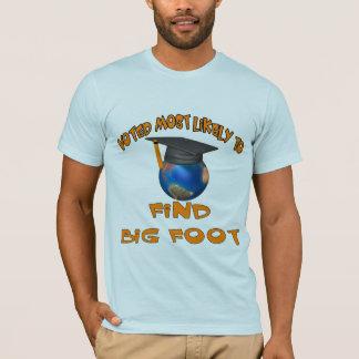 Find Big Foot T-Shirt