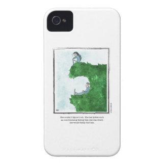 FIND HIM cartoon by Ellen Elliott Case-Mate iPhone 4 Cases