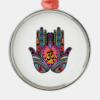 FIND INNER PEACE METAL ORNAMENT