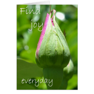 Find Joy Everyday Card