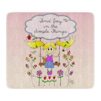 Find Joy in Simple Things Cutting Board