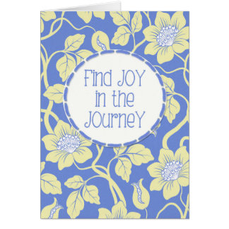 Find JOY in the Journey! Friend Encouragement Card