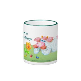 Find Joy In The Simple Things Ringer Mug