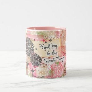 Find Joy in the Simple Things Coffee Mugs