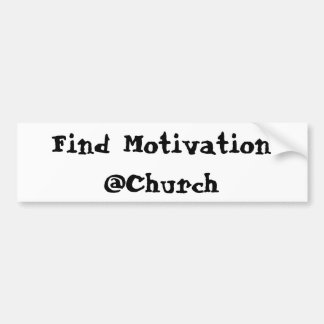 Find Motivation @Church sticker