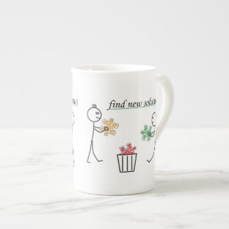 Find new Solutions Tea Cup