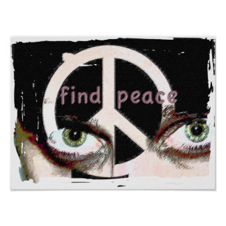 Find Peace Poster
