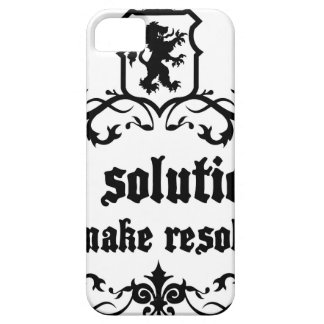 Find Solutions Donn't make Resolutions iPhone 5 Cases