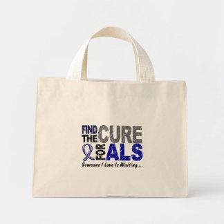 Find The Cure 1 ALS Mini Tote Bag