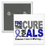Find The Cure 1 ALS T-Shirts & Gifts Pinback Buttons