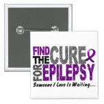 Find The Cure 1 EPILEPSY T-Shirts & Gifts Buttons
