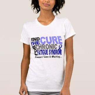 Find The Cure CFS Chronic Fatigue Syndrome T-Shirt