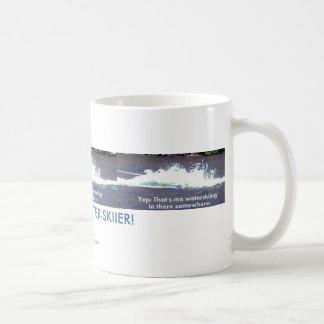 FIND THE MISSING WATER SKIIER COFFEE MUG