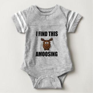 Find This Amoosing Moose Baby Bodysuit