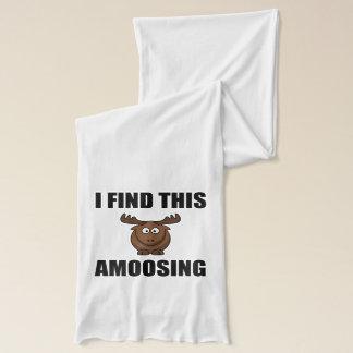 Find This Amoosing Moose Scarf