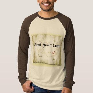 Find you Love Maps Long Sleeve Raglan T-Shirt