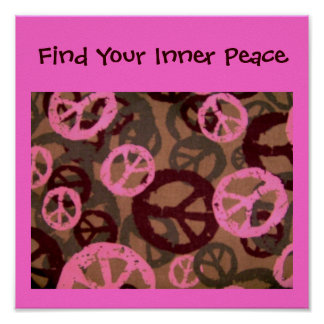Find Your Inner Peace-Poster Poster