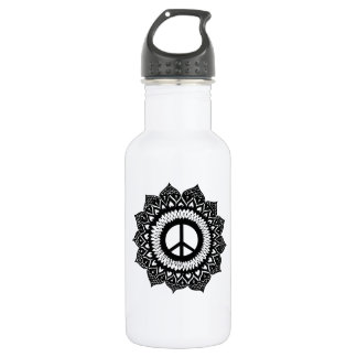 Find your internal peace | Mandala Design 532 Ml Water Bottle