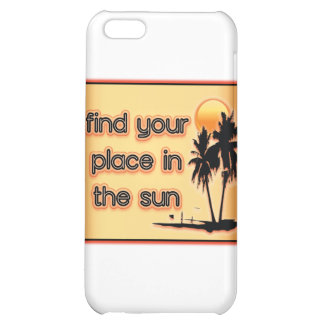 Find Your Place In The Sun Cover For iPhone 5C