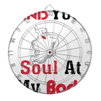 Find Your Soul at My Body Dartboard With Darts