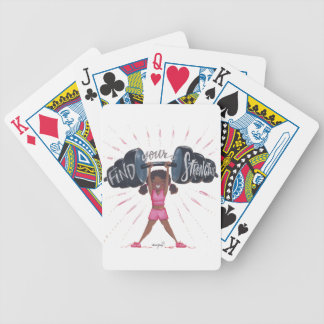 find your strengths_no background bicycle playing cards