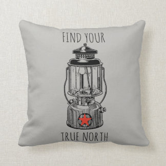 Find Your Truth North Throw pillow