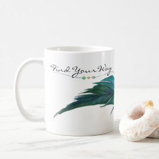 Find your way feather mug