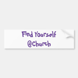 Find Yourself @Church sticker