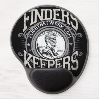 Finders Keepers Mouse Pad Gel Mouse Pad