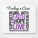 Finding a Cure For Sarcoidosis Mouse Mat