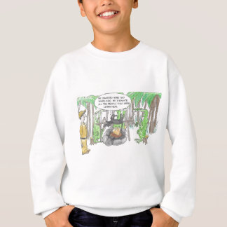 Finding a Surprise Sweatshirt
