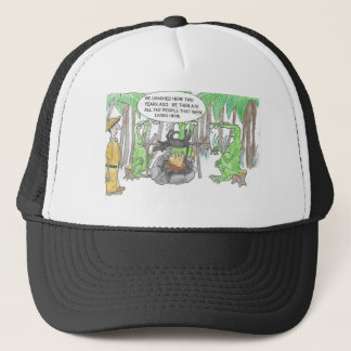 Finding a Surprise Trucker Hat
