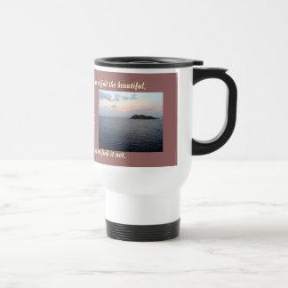 Finding Beauty travel mug